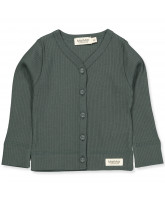 Forrest shadow rib cardigan