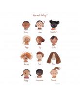 Plakat - Følelser 50x70 cm
