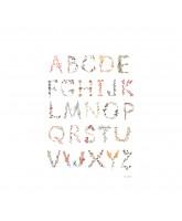 Plakat - Alfabet A3