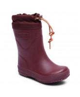 Bordeaux termo vintergummistøvler