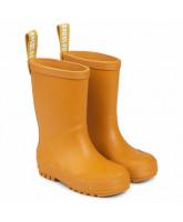 Okker gummistøvler