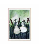 Duck friends plakat 50x70 cm