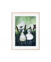 Duck friends plakat 30x40 cm