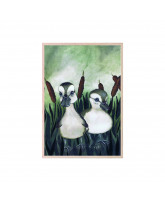 Duck friends plakat 21x30 cm
