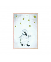 The beautiful duckling plakat 21x30 cm