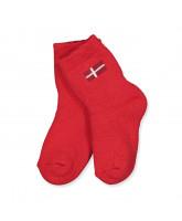 DK røde strømper
