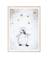 The beautiful duckling plakat 50x70 cm