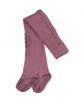 Misty plum non-slip strømpebukser