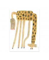 Noah Giraffe plakat - 70x50 cm