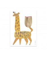 Noah Giraffe plakat - 30x40 cm