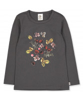 Organic Winter flower bluse