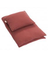 Burgundy sengetøj