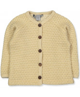 Offwhite/gold uld cardigan
