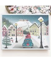 Let it snow puslespil - 1000 brikker