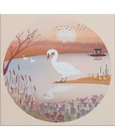 The swan puslespil - 1000 brikker