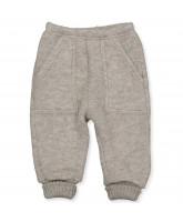 Camel uld fleece bukser