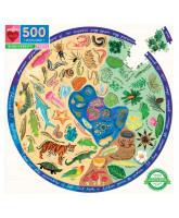 Puslespil  500 brikker - Biodiversitet