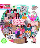 Puslespil 500 brikker - Klimademo