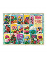 Puslespil 500 brikker - Garden