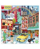 Puslespil 1000 brikker - New York