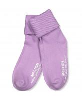 Violet non-slip strømper