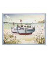 Fishing boats puslespil - 1000 brikker