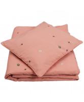 Organic Wild strawberry sengetøj