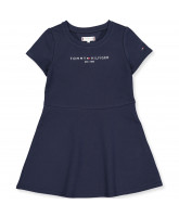 Organic navy kjole
