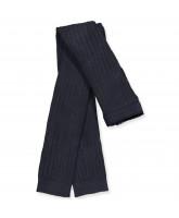Navy rib leggings