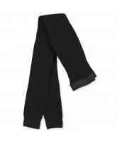 Black rib leggings