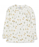 Organic offwhite bluse