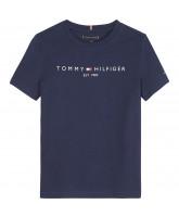 Organic blå t-shirt