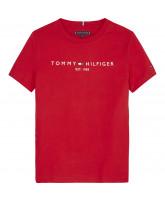 Organic rød t-shirt