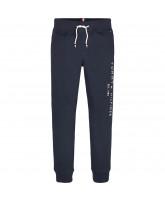 Organic blå sweatpants