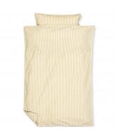 Organic Classic stripe oak sengetøj