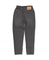 High loost taper jeans
