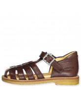 Mørkebrune sandaler