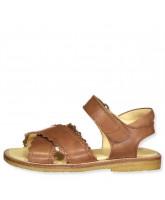 Lysebrune sandaler