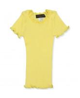 Vanilla yellow silke t-shirt