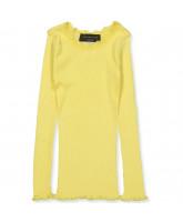 Vanilla yellow silke bluse