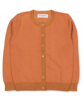 Pale orange cardigan