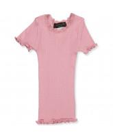 Zephyr rose silke t-shirt