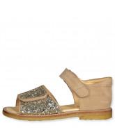 Champagne glimmer sandaler