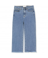 Organic Bellis blue jeans