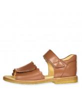 Cognac sandaler