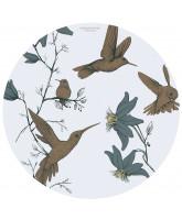 Hummingbird blue skridsikkert underlag