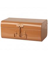 Orange kuffert