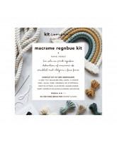 Macrame regnbue forest DIY kit