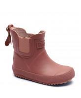 Rosa gummistøvler