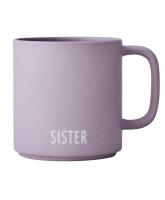Søskende kop - Porcelæn